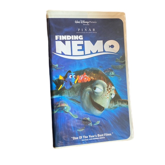 Disney Finding Nemo original VHS